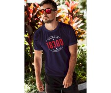 Tee-shirt homme marine city S