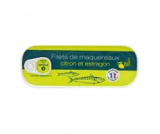 Filets de maquereaux citron-estragon  176g