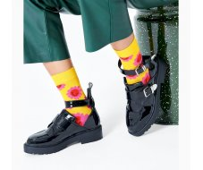 Smile Flower Sock