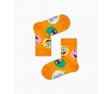 Chaussette Bob l'éponge orange Circle of Friends 2-3