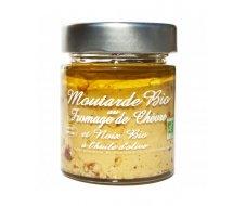 Moutarde BIO au fromage de chèvre et noix