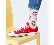 Happy Rainbow Sock 41-46