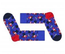 Chaussettes collection FFF bleu coq
